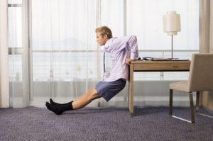 Γυμναστική κατά τη διαμονή σε ξενοδοχείο