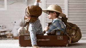 πτήση με παιδιά στο αεροπλάνο