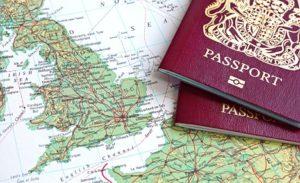 διαβατήριο για αεροπορικό ταξίδι με παιδιά