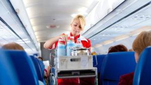 αεροπορικά εισιτήρια με Low Cost εταιρείες κατά τη διάρκεια της πτήσης