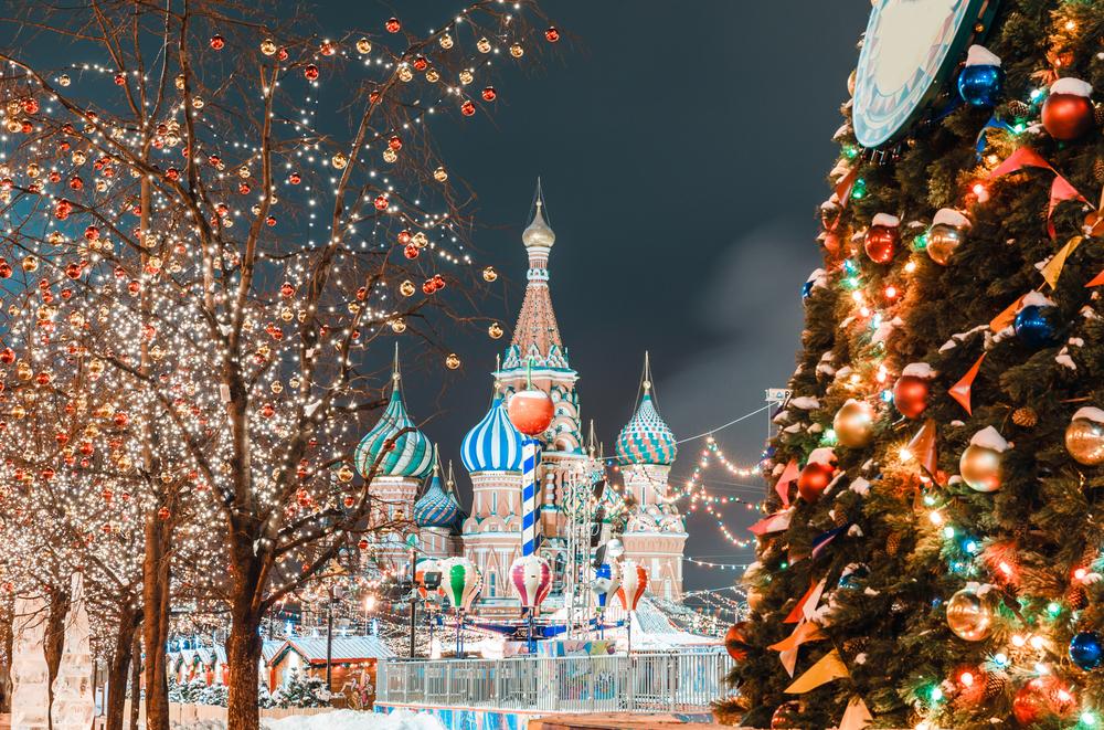 Γιορτινή Μόσχα