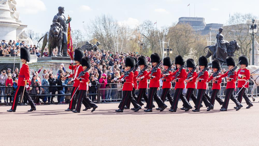 αλλαγή βασιλικής φρουράς Λονδίνο