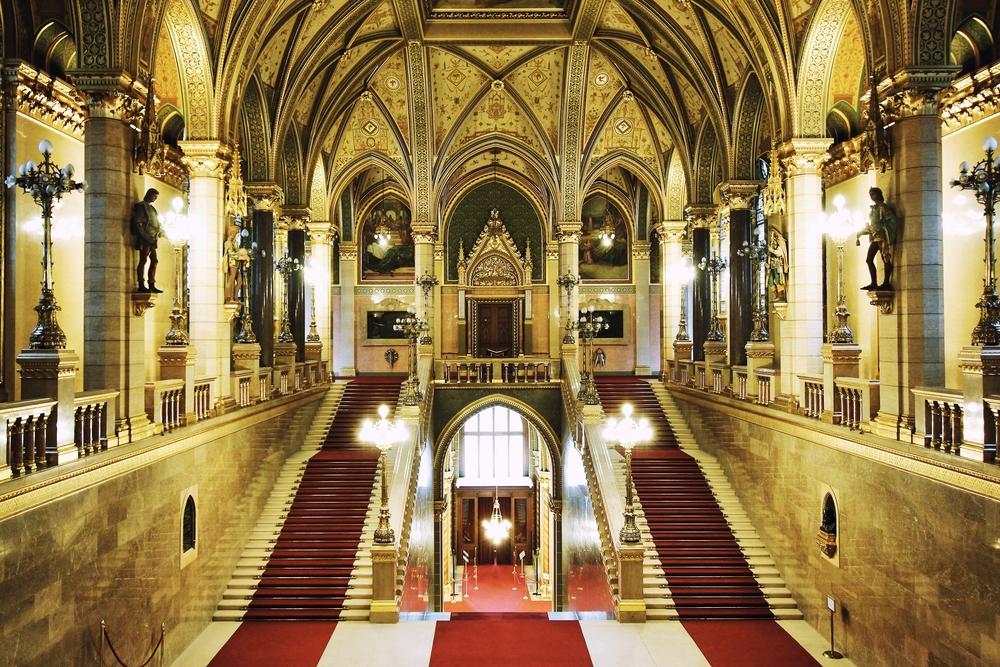 Κοινοβούλιο στη Βουδαπέστη