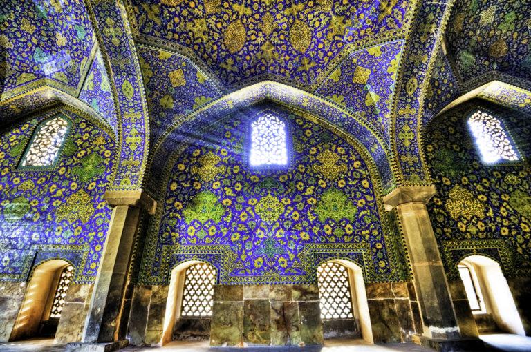 τέμενος Shah του ισλαμικού κόσμου στο Ιράν
