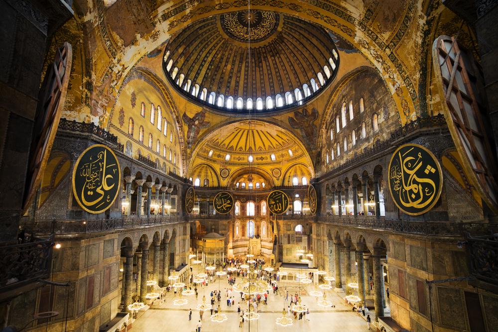 ναός της Αγίας Σοφίας στην Κωνσταντινούπολη