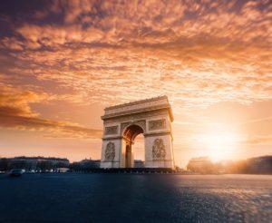 Παρίσι - Αψίδα του Θριάμβου φωτογραφία