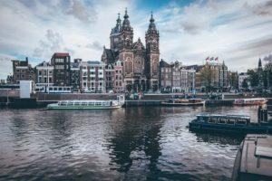Άμστερνταμ κανάλια φωτογραφία