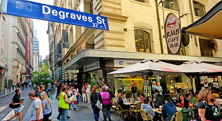 Μελβούρνη, τοπικές αγορές