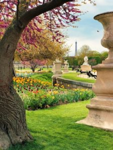 Παρίσι πάρκα φωτογραφία
