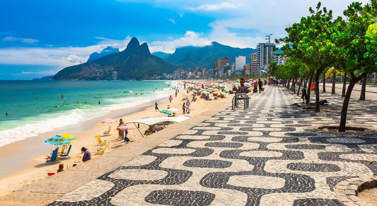 Ανακάλυψε τη μαγευτική Ipanema στη Βραζιλία.