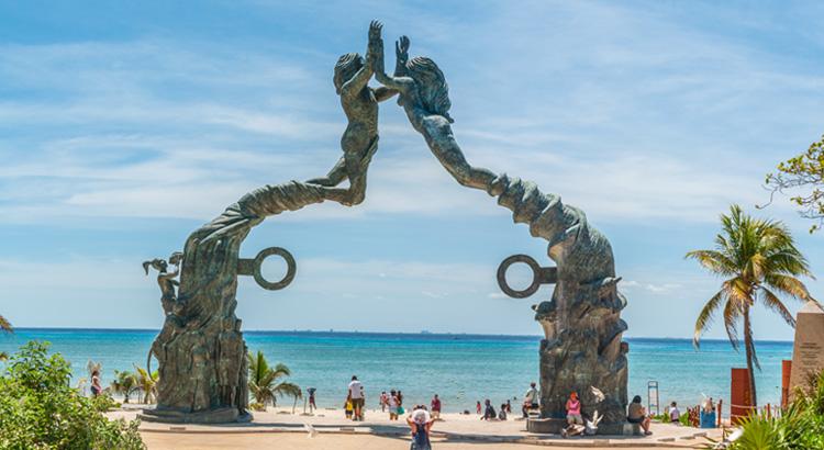 Ανακάλυψε την Playa Del Carmen στο Μεξικό. Πρόκειται για μια από τις ομορφότερες παραλίες στον κόσμο.