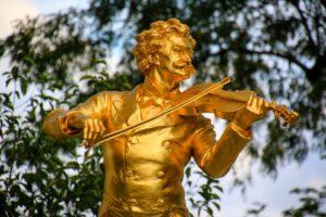 Βιέννη - Φωτογραφία Μνημείο Johann Strauss
