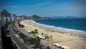 Ρίο ντε Τζανέιρο - Φωτογραφία Παραλία Copacabana