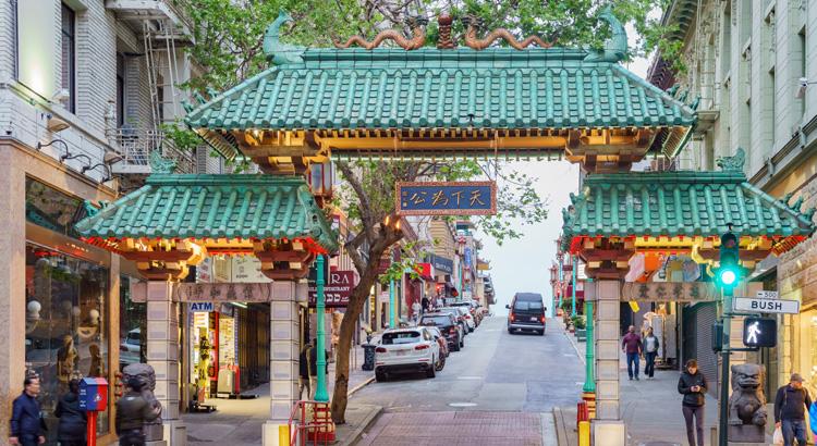 Ανακάλυψε την Chinatown στο San Francisco.