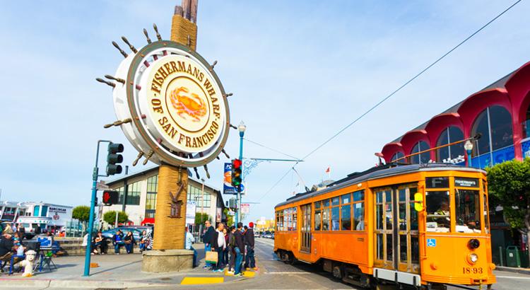 Ανακάλυψε το Fisherman's Wharf στο San Francisco.