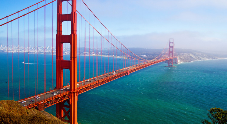 Ανάκαλυψε το Golden Gate Bridge ένα από τα καλύτερα μέρη στο San Francisco.