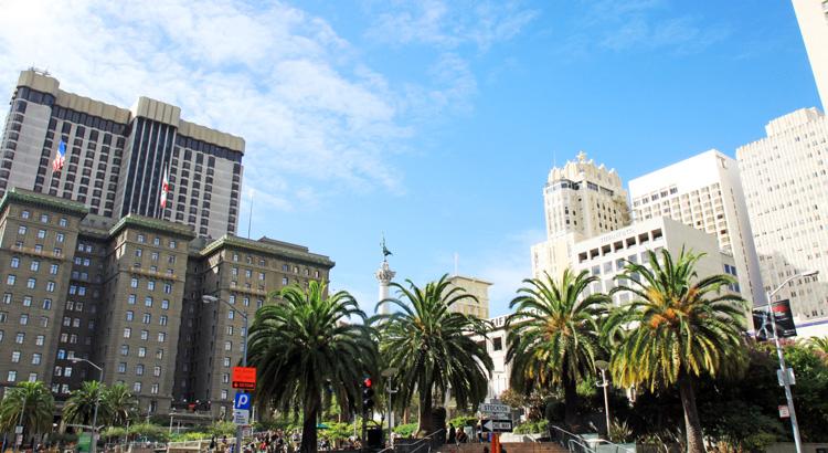 Ανακάλυψε την Union Square στο San Francisco.