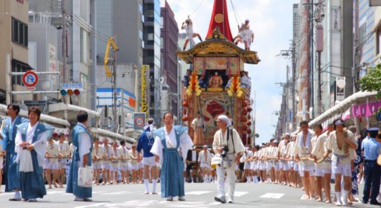 Φεστιβάλ Gion στην Ιαπωνία