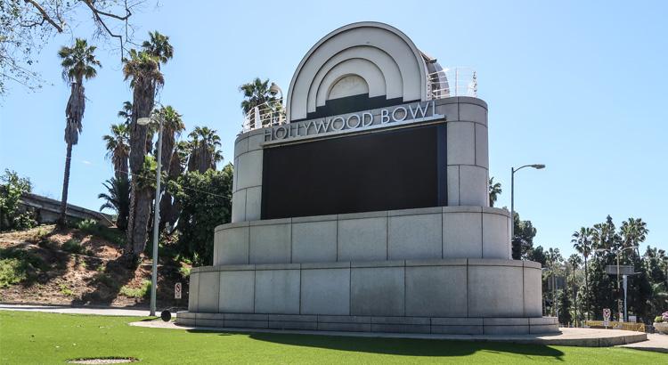Hollywood Bowl στο Λος Άντζελες