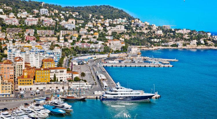 Θέα από τη Νίκαια της Γαλλίας