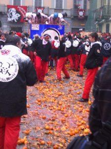 Φεστιβάλ της Ιταλίας-Φωτογραφία Μάχη των Πορτοκαλιών