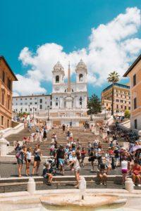 Weekend στη Ρώμη-Φωτογραφία Spanish Steps