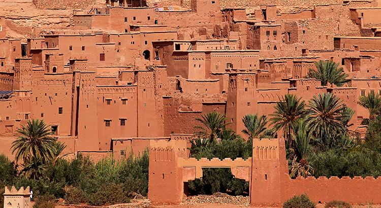 Η χωμάτινη πολιτεία Aït Benhaddou στο Μαρόκο