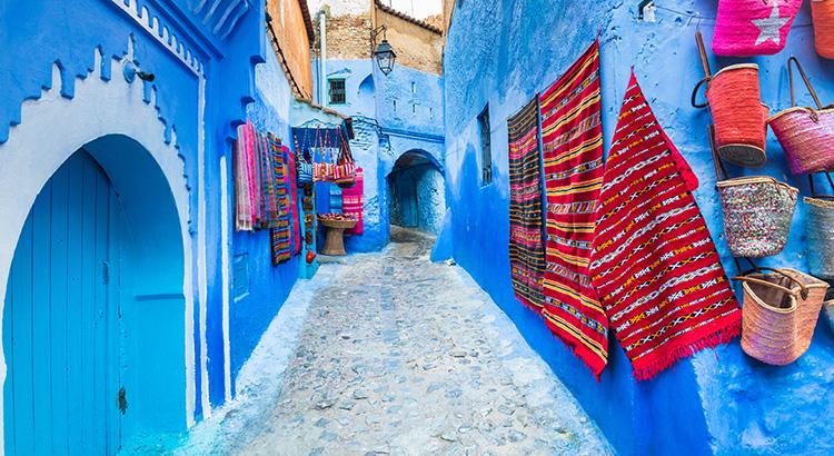 H Chefchaouen είναι η μαγευτική μπλε πόλη στο Μαρόκο