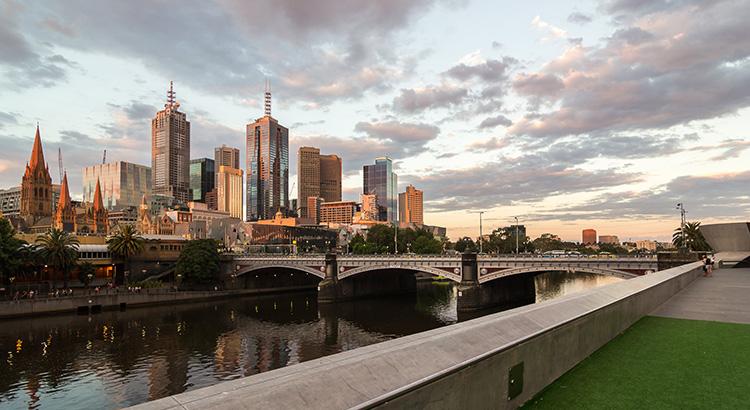 Θέα από Μελβούρνη
