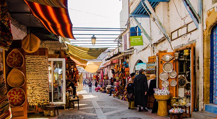 Η Rabat είναι η πρωτεύουσα του Βασιλείου του Μαρόκου.