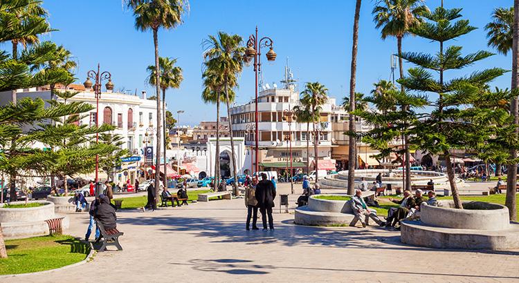 Το λιμάνι Tangier είναι πηγή έμπνευσης στο Μαρόκο