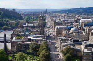 Ανερχόμενοι προορισμοί Ευρώπη - φωτογραφία Εδιμβούργο