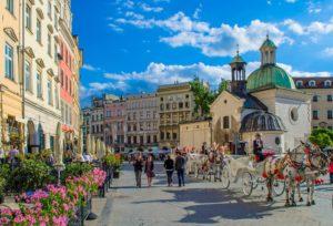Ανερχόμενοι προορισμοί Ευρώπη - φωτογραφία Κρακοβία