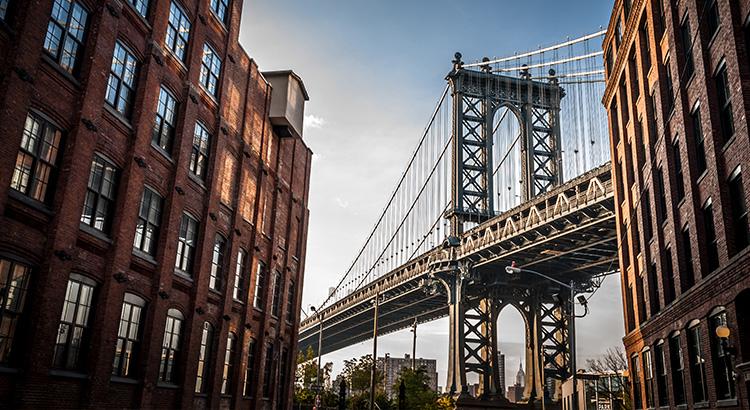 Γέφυρα Μπρούκλιν στη Νέα Υόρκη