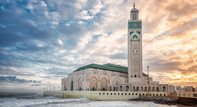 Το Hassan II Mosque είναι το μεγαλύτερο τζαμί στην Αφρική