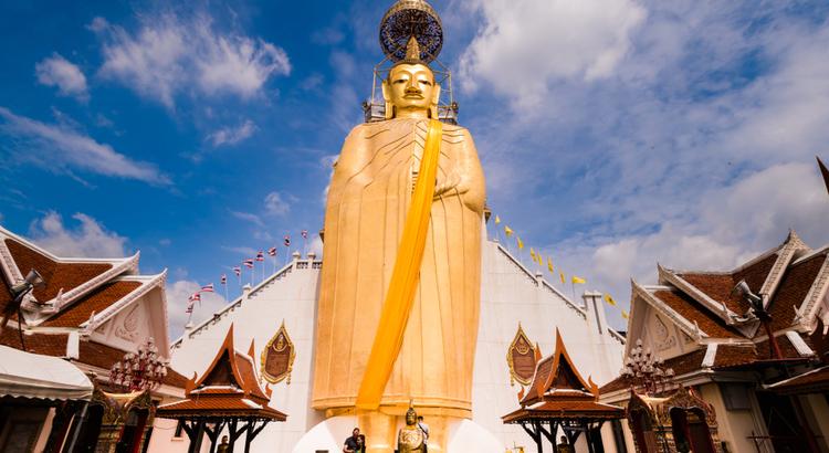 Ο ψηλός βούδας από χρυσό που πρέπει να επισκεφτείς στην Μπανγκόκ