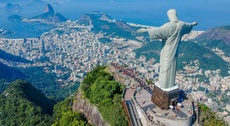 Ένας από τους καλύτερους προορισμούς στην Ν. Αμερική , η αγκαλιά του Χριστού, Ρίο ντε Τζανέιρο