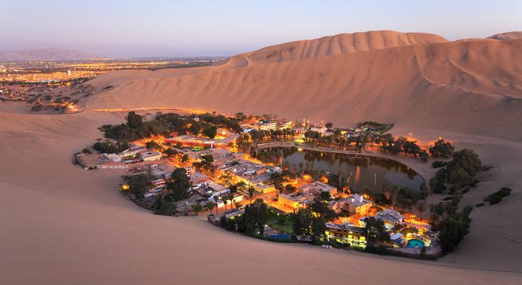 Αναπάντεχα μέρη στο Περού, έρημος και όαση στην Huacachina