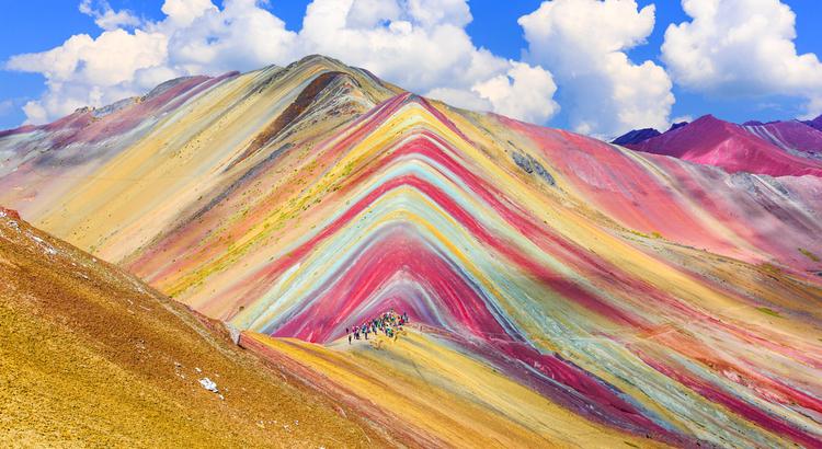 Αναπάντεχα μέρη στο Περού, το βουνό που μοιάζει με ουράνιο τόξο