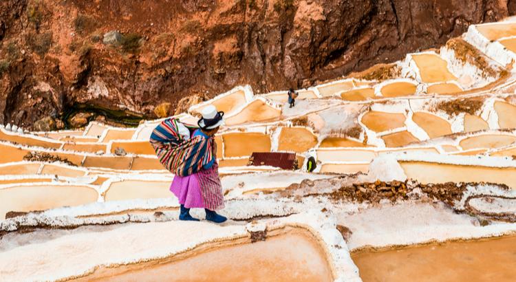 Αναπάντεχα μέρη στο Περού, Αλυκές πηγές