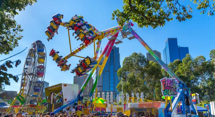 Φεστιβάλ Moomba στη Μελβούρνη της Αυστραλίας