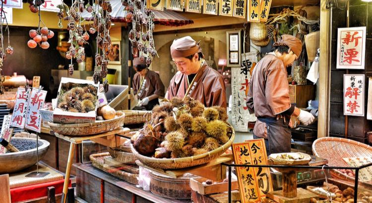 Nishiki Market,Kyoto