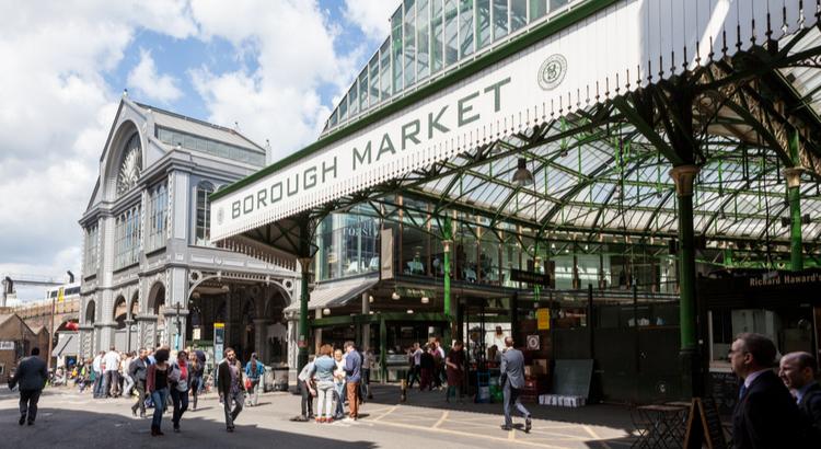 Borough Market - Λονδίνο - Σαββατοκύριακο - Οδηγός - Αεροπορικά Εισιτήρια