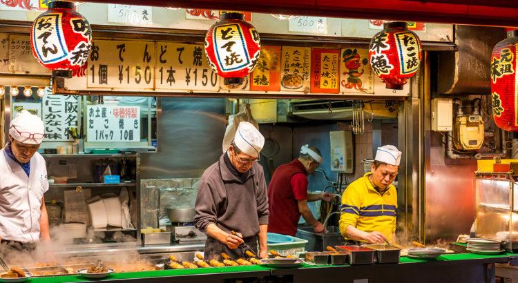 Οι καλύτεροι προορισμοί για street food στην Ιαπωνία