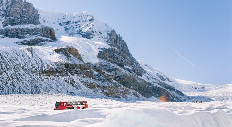 Χιονισμένο τοπίο στον Καναδά, χαμηλές θερμοκρασίες