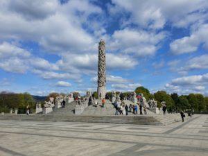 Weekend in Oslo_ Φωτογραφία Frogner park-Monolith
