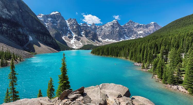 Λίμνη Μοραιν στον Καναδά