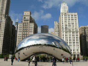 ΣΚ στο Σικάγο_ Φωτογραφία Millennium Park_Cloud Gate