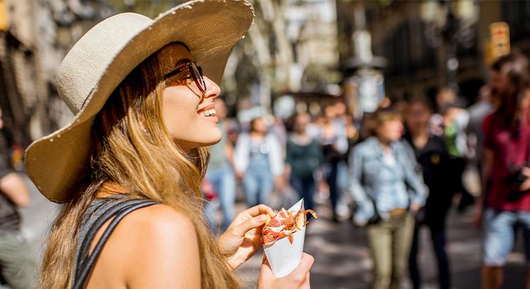Βαρκελώνη ένας από τους καλύτερους προορισμούς street food στην Ισπανία