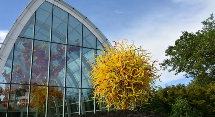 Καλύτερο μέρος για να επισκεφτείς στο Seattle οι κήποι από γυαλί Chihuly